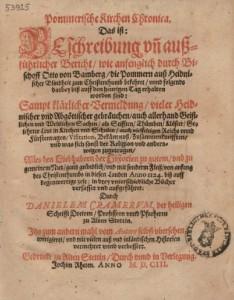 Pommerisches Kirchenchronicon