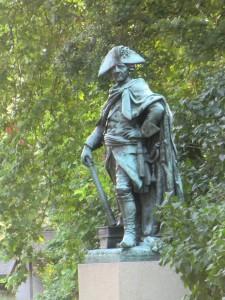 Friedrich der Grosse als Bronze am Pommerschen Landesmuseum in Greifswald