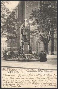 Denkmal Carl Loewe Stettin