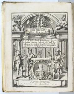 Detail aus Micraelius, Vom alten Pommerlande Auktionsbild