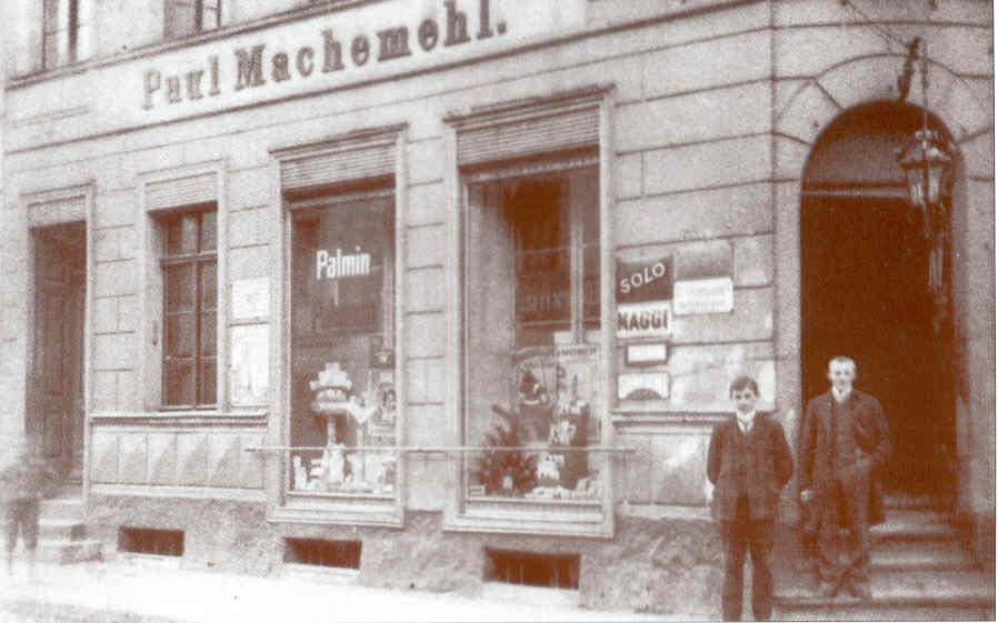 Elternhaus Machemehl in Schlawe, Stolper Straße