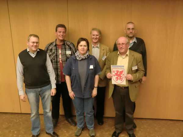v.l.n.r.: Kuritz, Merten, Larsson, Schroeder, Wallschläger, Zordel
