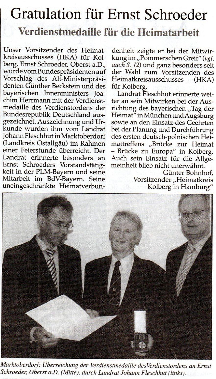 Pommersche Zeitung vom 9.3.2013