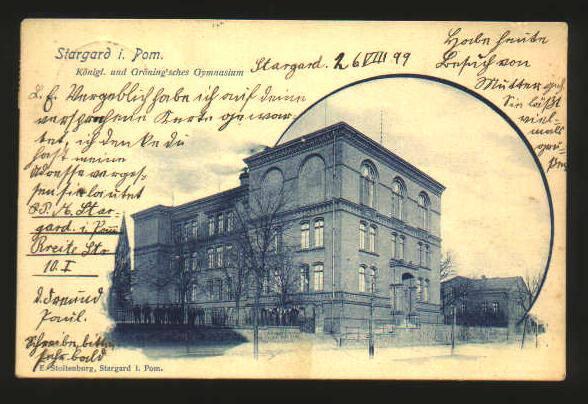 Gymnasium in Stargard