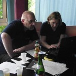 Familienforscher beim Rummelsburger Pastenschaftstreffen