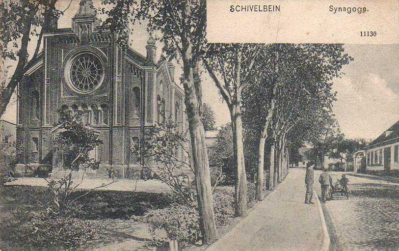 Synagoge in Schivelbein um 1900