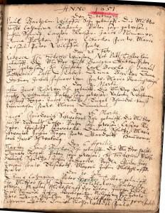 Taufen 1651