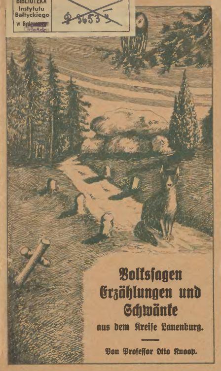 Titelblatt: Volkssagen Lauenburg