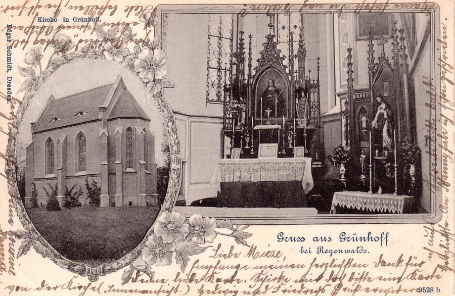 Die Kirche in Grünhoff