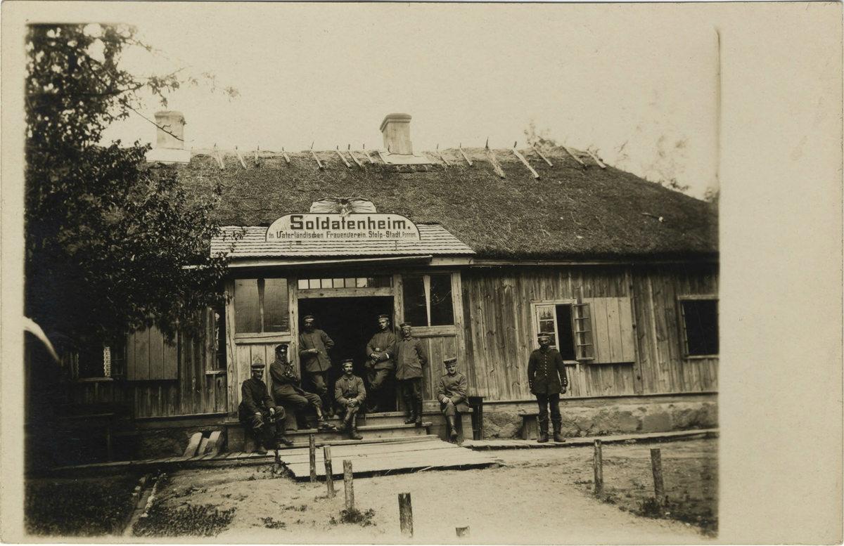 Soldatenheim des Vaterländischen Frauenvereins,  Stolp