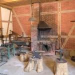 Rekonstruktion einer pommerschen Schmiede