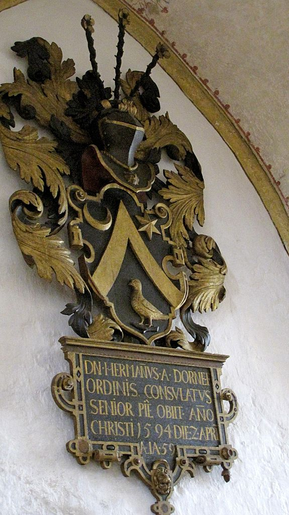Epitaph für Hermann von Dorne in der Marienkirche, Lübeck von  1594