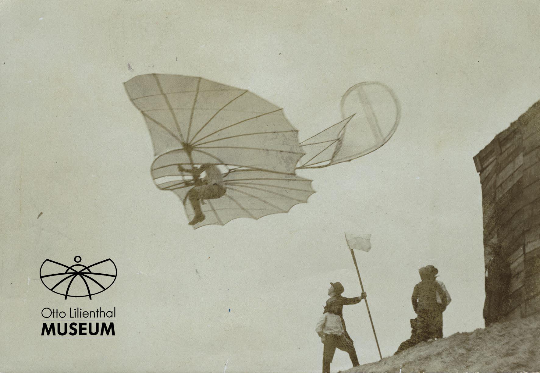 Pressefoto aus dem Otto-Lilienthal-Museum
