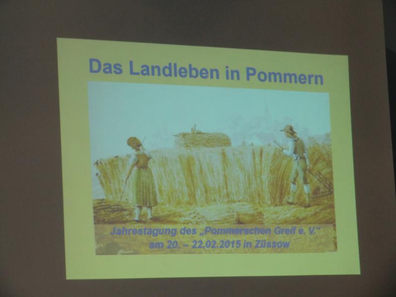 Das Pommersche Landleben