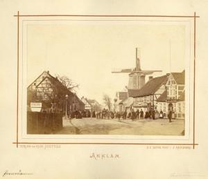 Die Schwedenmühle im Jahr 1870
