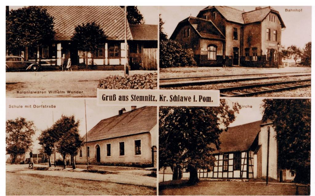 Ansichtskarte Stemnitz, Eigentum M. Pommerening