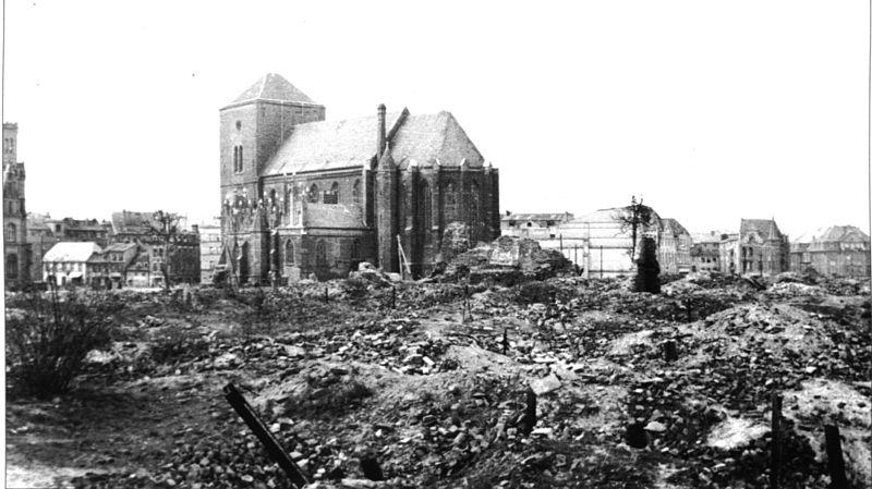 Stolp 1945, Marienkirche