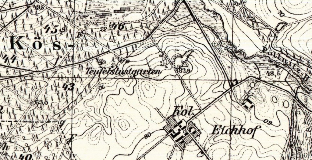 Teufelslustgarten Kreis Schlawe