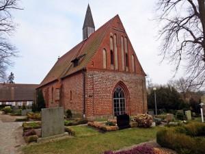 Die Kirche in Katzow