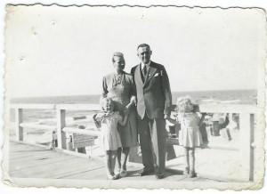 Ewald Kassner mit Familie