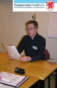 Foto vom Seminar des Pommerscher Greif
