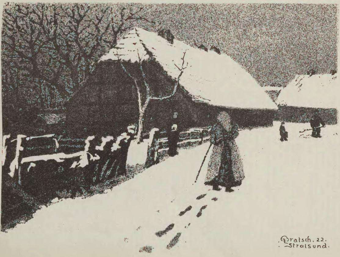Advent - Verschneites Dorf - Emil Bratsch