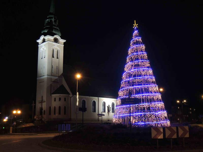 Kirche in Rummelsburg - Miastko Foto K.F. Schwirz