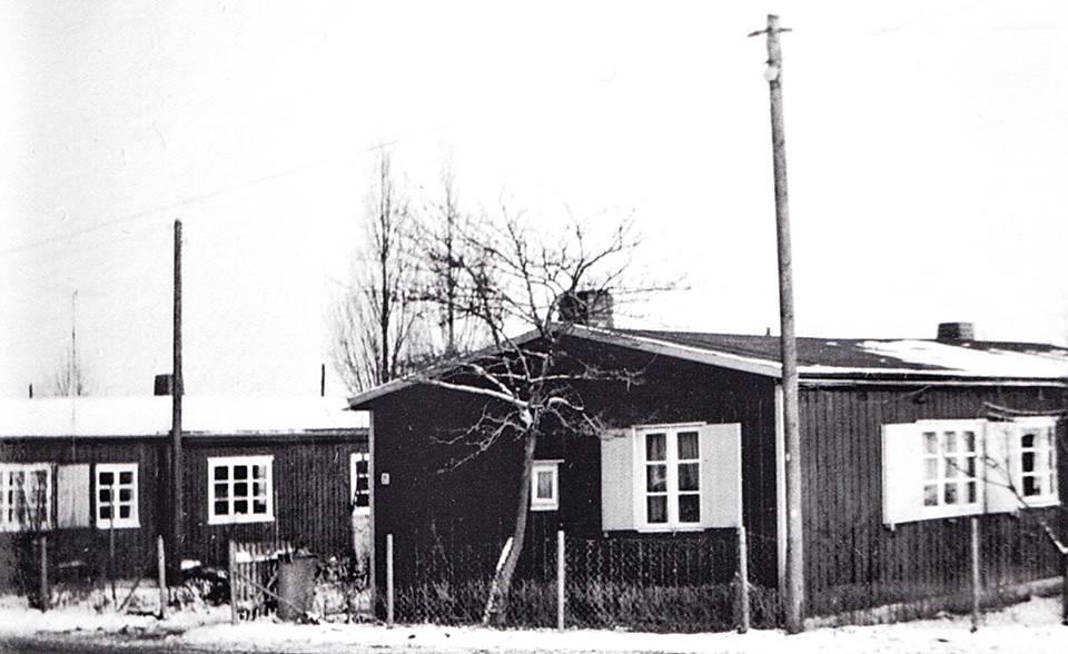 Häuser in der Fischersiedlung Travemünde