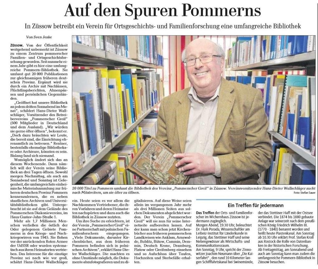 Ostseezeitung vom 25.06.2016