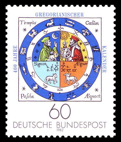 411px-DBP_1982_1155_400_Jahre_Gregorianischer_Kalender