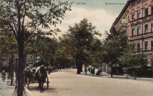 Kurfürstenstrasse in Stettin - Bildquelle sedina.pl