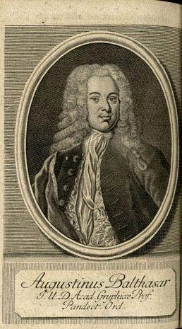Augustin von Balthasar (* 20. Mai 1701 in Greifswald; † 20. Juni 1786 ebenda) war ein deutscher Jurist und Gelehrter in Schwedisch-Pommern. Als Historiker trug er umfangreiches Material zur Geschichte Pommerns zusammen.