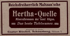 """Anzeige in """"Der Krieg in Wort und Bild 1914/17 """""""