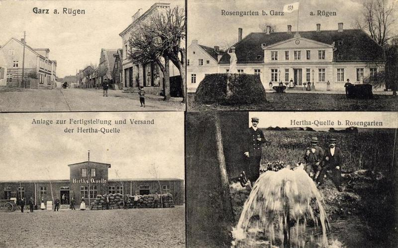 Garz auf Rügen und die Herthaquelle
