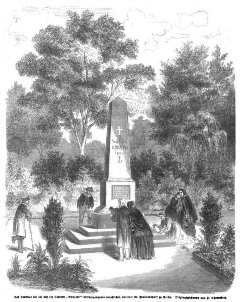 Denkmal an die Amazone im Invalidenpark Berlin
