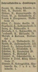 Stettiner Adressbuch 1899