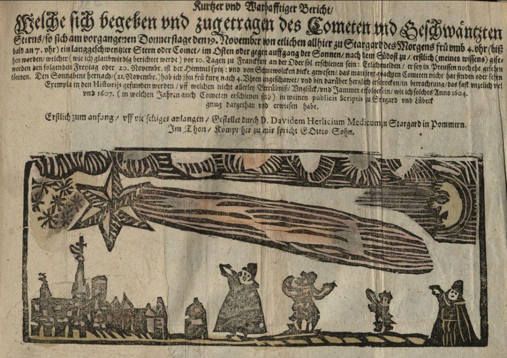 Kurtzer vnd Warhafftiger Bericht, von David Herlitz 1618