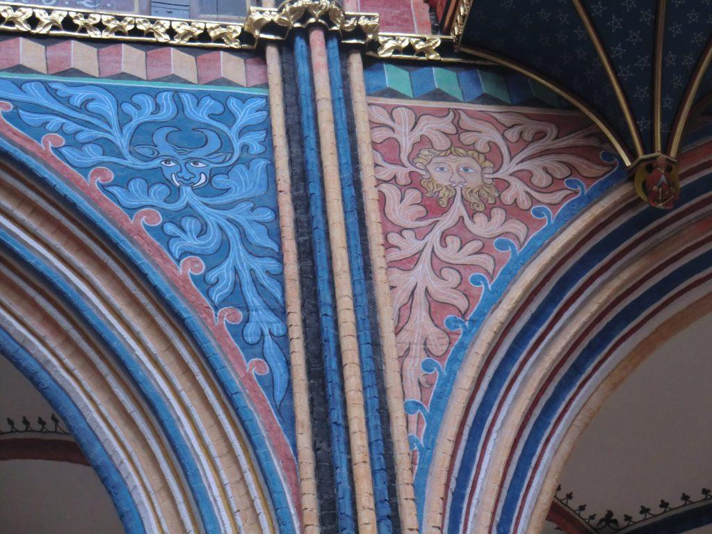 Arkaden in der Nikolai Kirche Stralsund Foto M.Ott