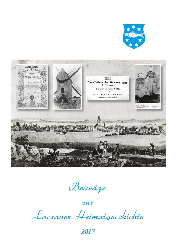 Titelblatt Lassan er Heimatgeschichte 2017