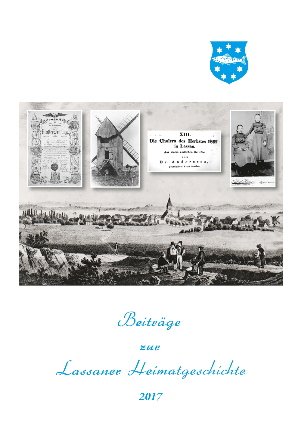 Titelblatt Lassaner Heimatgeschichte 2017