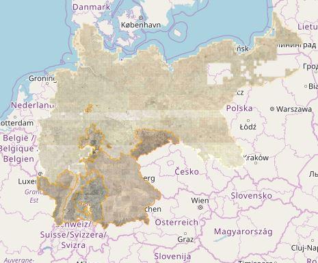 Mapire - Deutsches Reich
