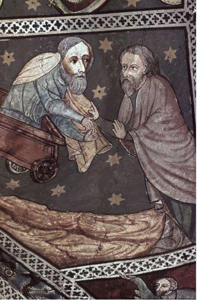 Fresko aus dem Kolberger Dom
