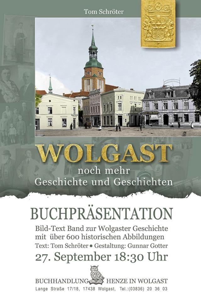 Wolgast - Buchpräsentation