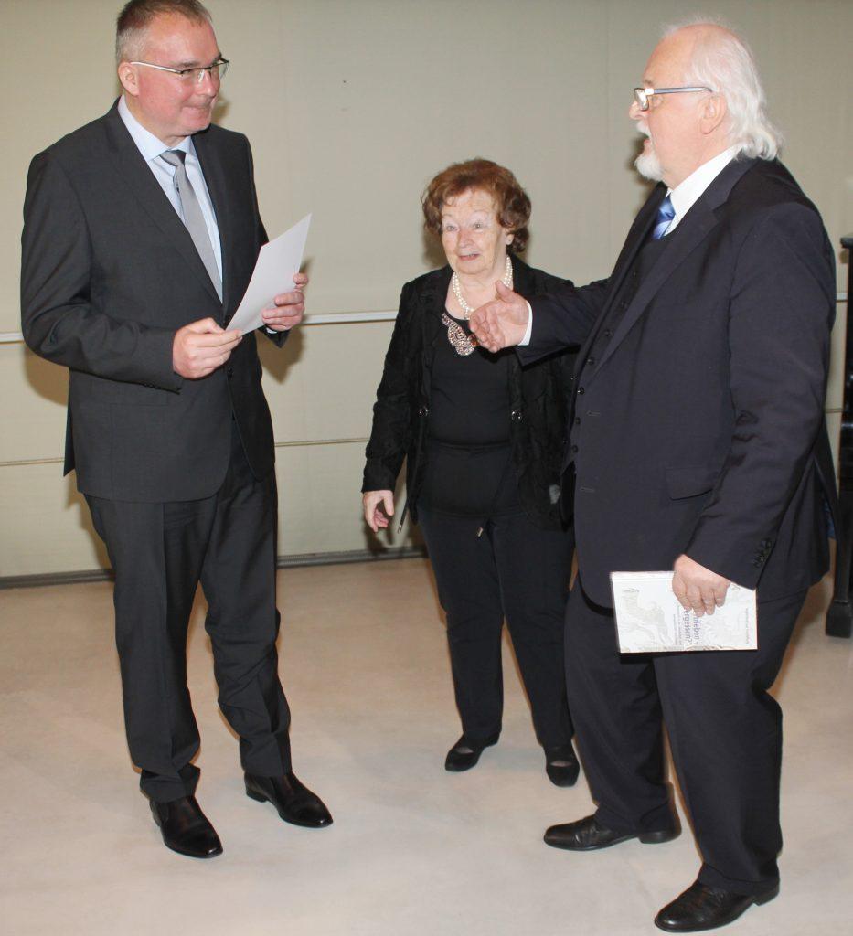 Dr. Porada, M. Schlegel und A. Raasch
