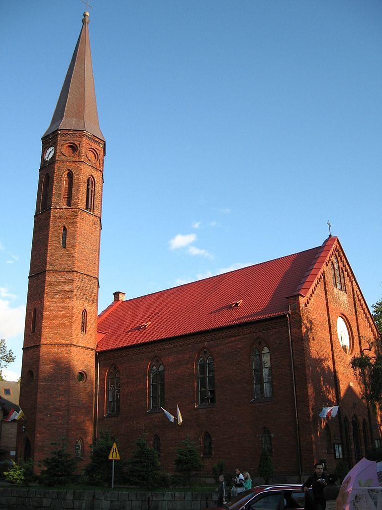Kirche in Sorenbohm Sarbinowo