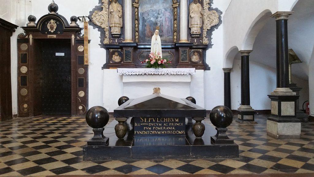 Grab der Fürsten von Pommern