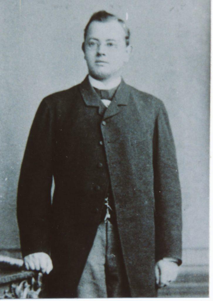 Der junge Alfred Haas
